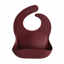 Baby Bib Solid Colors - Arabian Spice