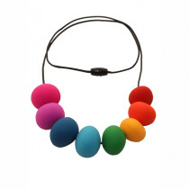 Nibbly Bits - Abacus Necklace Rainbow