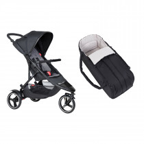 Dot Buggy & Cocoon Package - Charcoal
