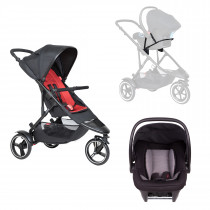 Dot Buggy Travel System - Chilli