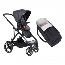 Voyager Buggy & Cocoon Package - Charcoal