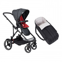 Voyager Buggy & Cocoon Package - Chilli