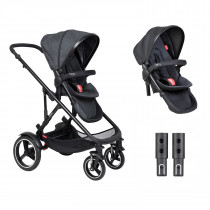 Voyager Buggy Double - Black