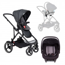 Voyager Buggy Travel System - Charcoal