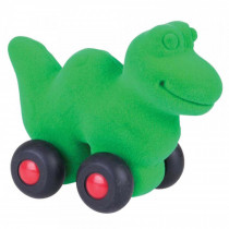 Soft Toy-Aniwheelies Dinosaur Small-Green