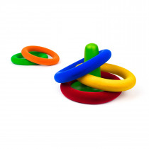 Soft Baby Educational Toy-Ring Toss Set (18 cms.)