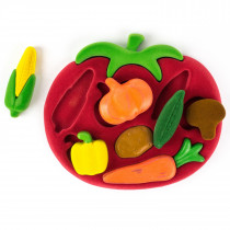 Soft Toy-3D Shape Sorter Vegetables