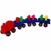 Soft Toy-The Big Rubbabu Train