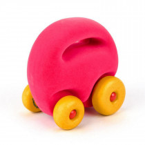 Soft Toy-Original Mascot Car- Pink