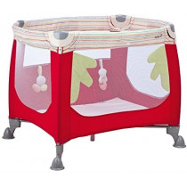Zoom Travel Cot- Red Dot