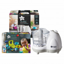 Tommee Tippee Mini Blend Baby Food Blender and Weaning Kit