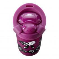 No Knock Cup with Removable Lid - Purple