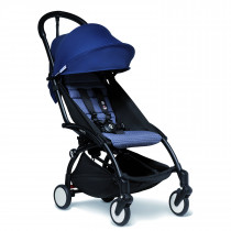 BABYZEN stroller YOYO2 6+ Black Frame & Air France Blue