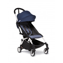 BABYZEN stroller YOYO2 6+ White Frame & Air France Blue