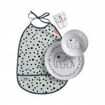Dinner set Happy dots - Powder