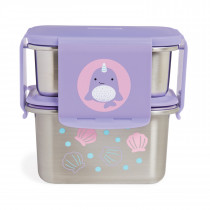 Stainless Steel Lunch Kit-Narwhal