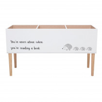 Wooden Bookcase - White