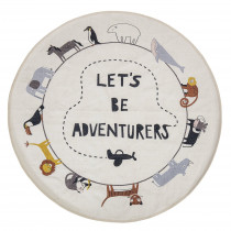 Let's Be Adventurers Rug