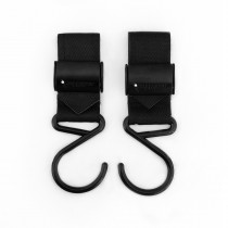 Boutique Stroller Hooks - Matte Black