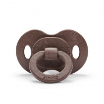 Bamboo Pacifier - Chocolate - Natural Rubber