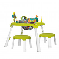 PortaPlay Convertible Activity Center + Stools Combo - Forest Friends