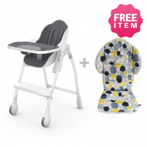 Cocoon Highchair with Seat Liner - Slate