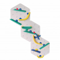 VertiPlay STEM Marble Run - CRAYON Triple Fun set of 3