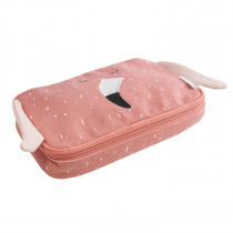 Pencil case rectangular - Mrs. Flamingo